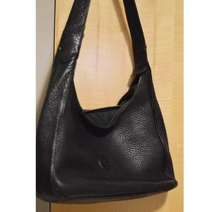 Vintage All-Black Dooney and Bourke Purse AWL